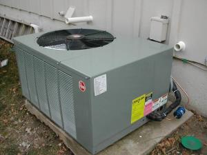 Rheem Air Conditioner  Condensing unit